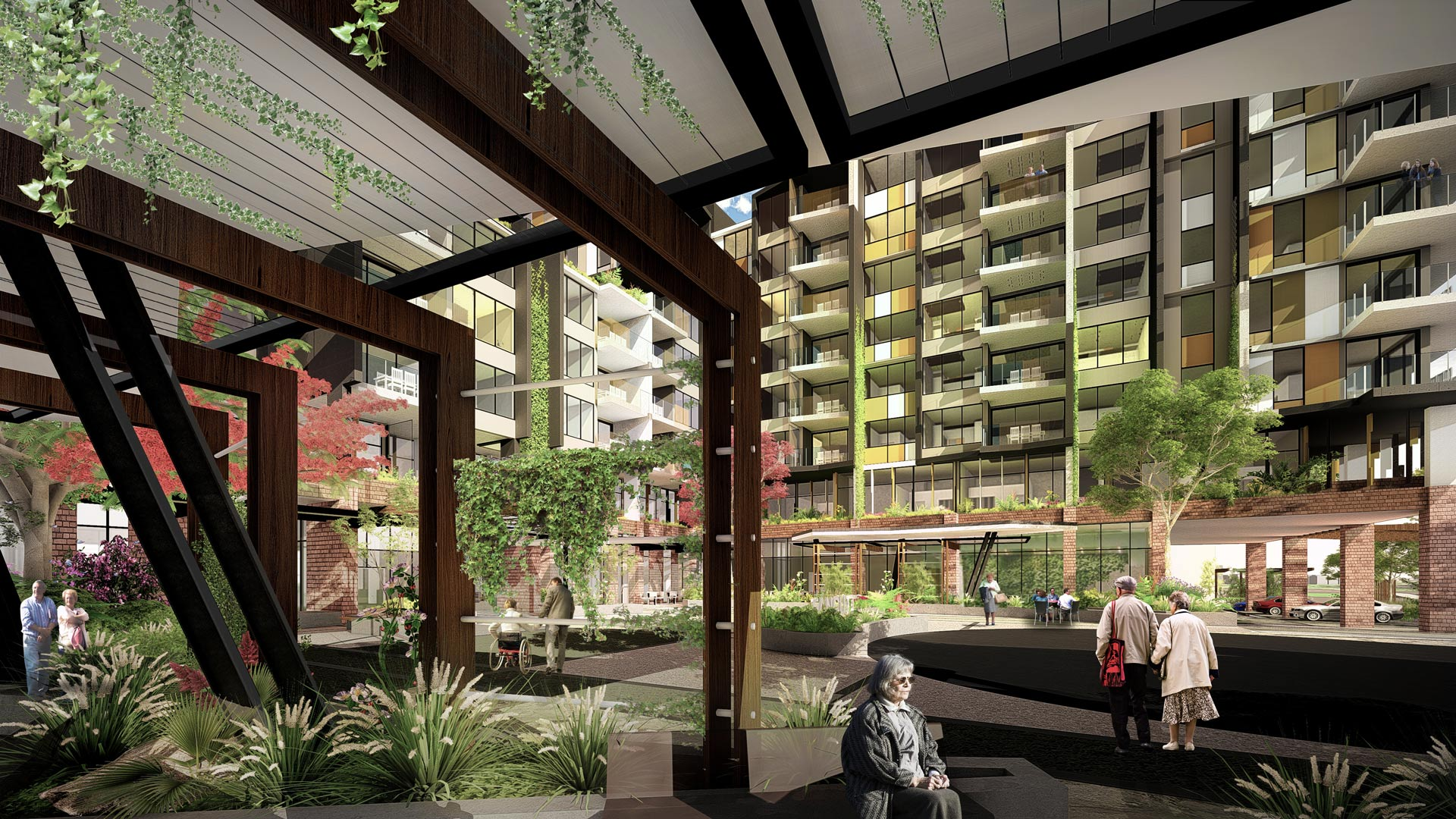 Lutwyche Seniors Apartments